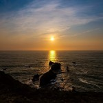 Shooting the Sunset and Time-lapse at Mori Point